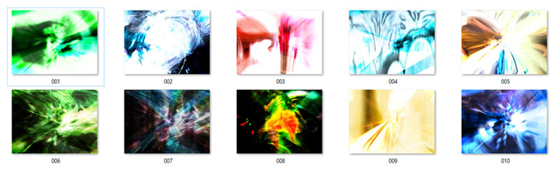 Abstract Image Collections
