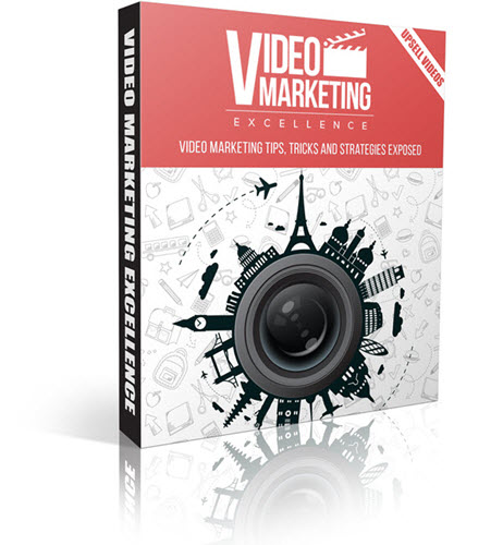 Video Marketing Excellence Upsell Videos ECover