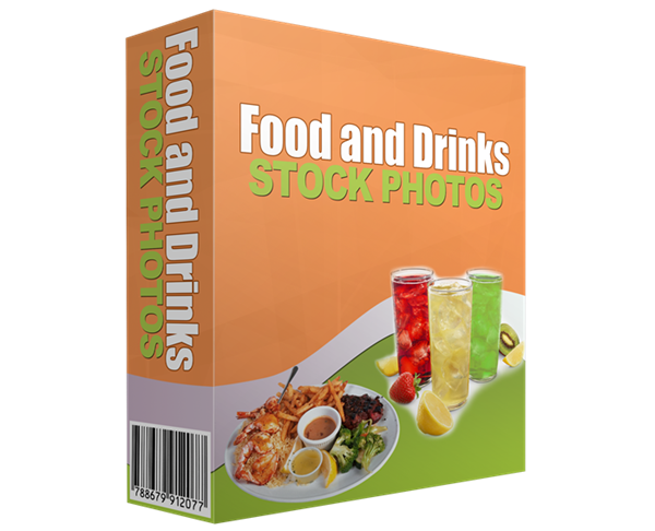Food and Drinks Stock Photos ECover