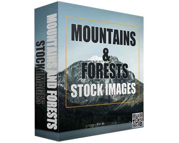 Mountains and Forests Stock Images ECover