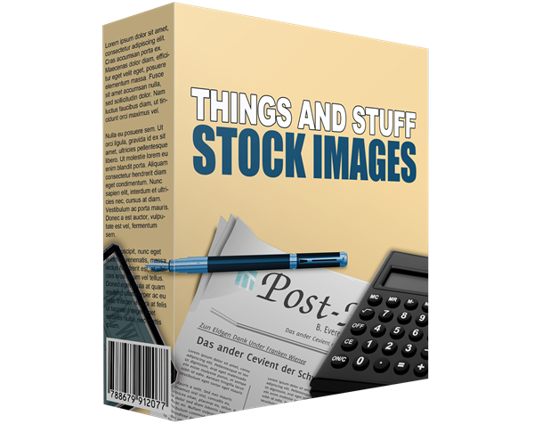 Things and Stuff Stock Images ECover